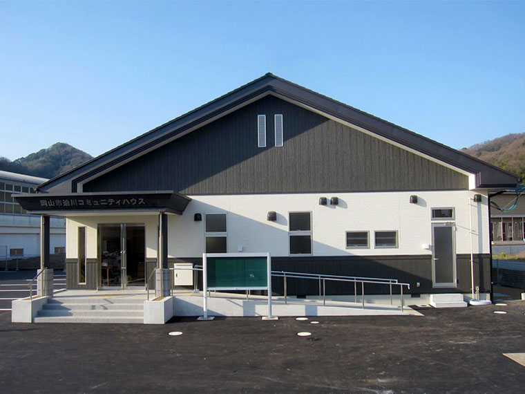 追川コミュニティー 新築工事